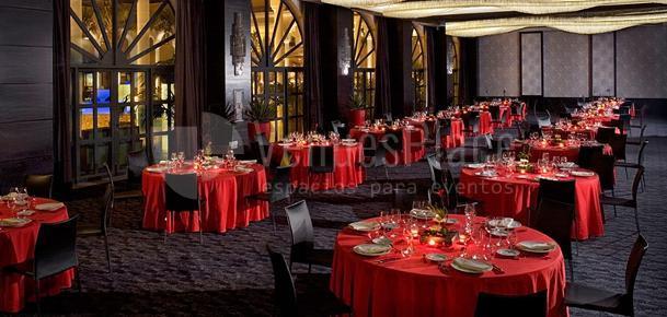 Sala EOS - Cena de Gala Hotel Gran Meliá Palacio de Isora