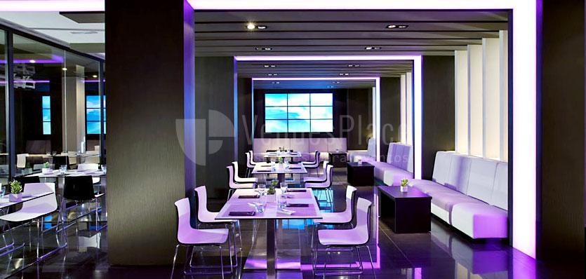 Restaurante Saffron Mediterranean Bistrot en el Hotel Meliá Sitges / Saffron Mediterranean Bistrot Restaurant at Hotel Meliá Sitges