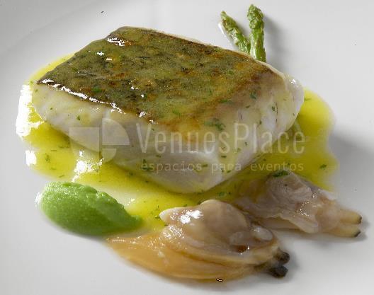 Plato incluido en los menús de eventos del Hotel Meliá Sitges / Plate included in the event menus at Hotel Meliá Sitges