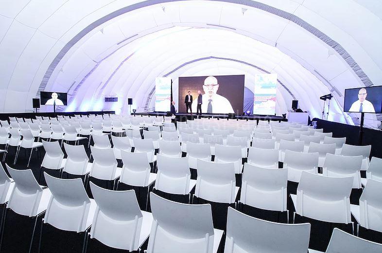 Presentaciones, conferencias y otros eventos corporativos en Sky Center
