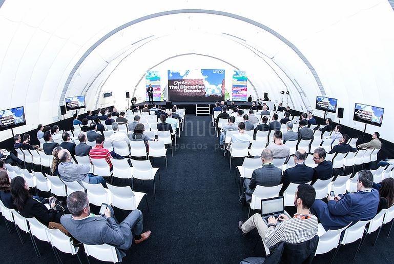 Presentaciones de producto y otros eventos corporativos en Sky Center