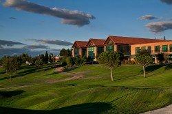 Vistas desde campo de golf en Retamares Events Suites & Golf