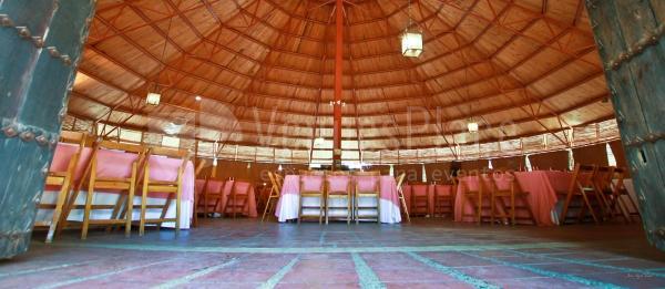 La antigua plaza hoy es un salón muy especial para organización de eventos de empresa y sociales .Cortijo de Arenales