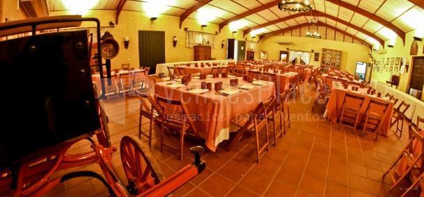 Salón Tinajón eventos singulares con todos los detalles. Cortijo de Arenales