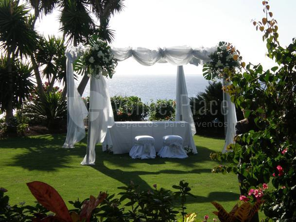 BODA EN ABAMA GOLF & SPA RESORT