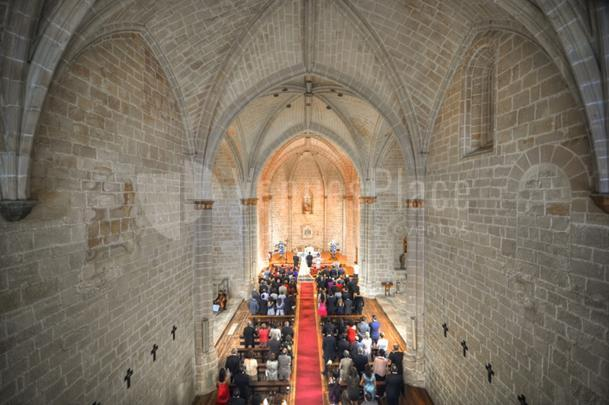 Interior Monasterio del Espino