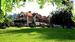 Gran hotel balneario de Puente Viesgo en Cantabria