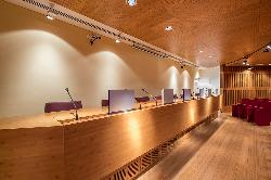Auditorio Eventos de empresa en El Colegio Oficial de Aparejadores y Arquitectos Técnicos de Madrid