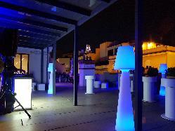 Eventos en Terraza del Colegio Oficial de Arquitectos Técnicos y Aparejadores