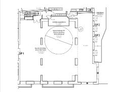 Plano Salón Central