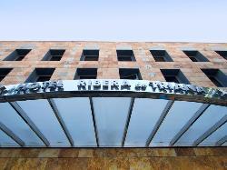 Exterior fachada en Hotel Ribera de Triana