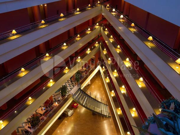 Interior plantas en Hotel Ribera de Triana
