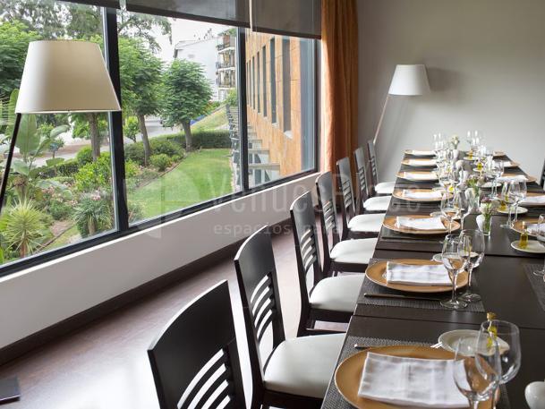Comedor en Hotel Ribera de Triana