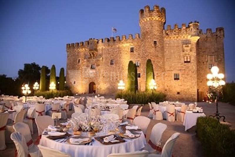 Exterior Restaurante Torre de Sande y Castillo