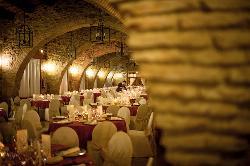 Interior  Restaurante Torre de Sande y Castillo