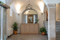 Recepción en Hotel Hospes Palacio de Arenales & Spa Cáceres