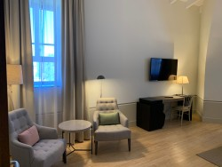 Detalles descanso en Habitación Deluxe en Hotel Hospes Palacio de Arenales & Spa Cáceres