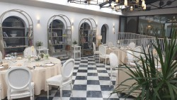 Banquete en Invernadero en Hotel Hospes Palacio de Arenales & Spa Cáceres