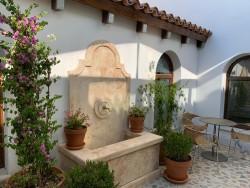 Patio invernadero en Hotel Hospes Palacio de Arenales & Spa Cáceres