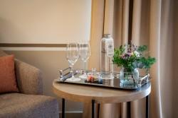 Atenciones de agua en Hotel Hospes Palacio de Arenales & Spa Cáceres