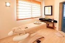 Cabina tratamientos spa en Hotel Hospes Palacio de Arenales & Spa Cáceres