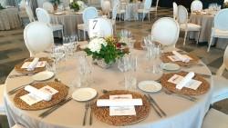 Mesas banquete en Hotel Hospes Palacio de Arenales & Spa Cáceres