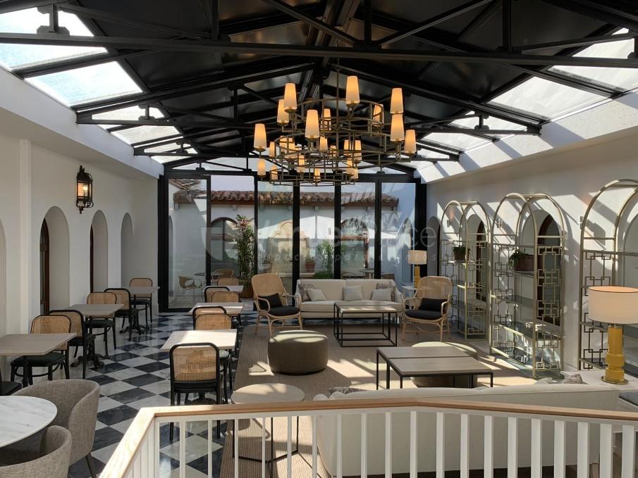 Salón Invernadero en Hotel Hospes Palacio de Arenales & Spa Cáceres
