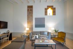 Salón en suite en Hotel Hospes Palacio de Arenales & Spa Cáceres