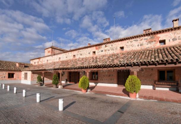 Exterior 2 en Parador de Toledo
