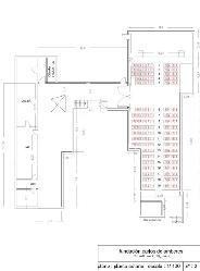 Plano Auditorio y Galería en Fundación Carlos de Amberes
