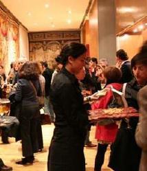 Cóctel en Galería en Fundación Carlos de Amberes