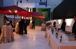 Terraza para eventos en Fundación Carlos de Amberes
