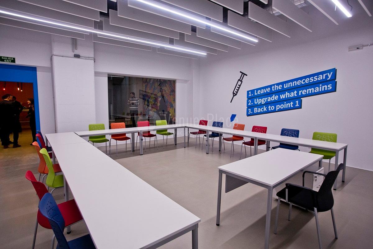 Esp en ULab Ideas Meeting Point