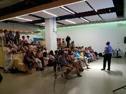 Montaje conferencias en ULab Ideas Meeting Point