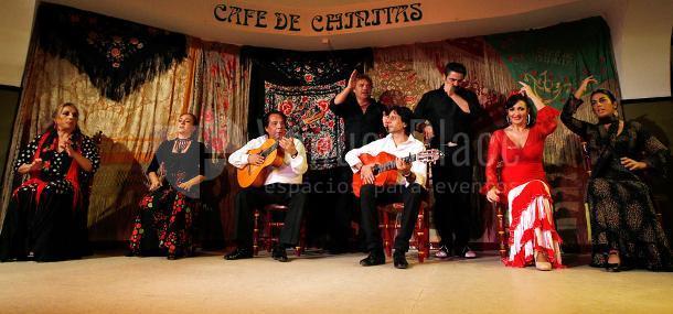 Espectáculos flamencos en el  Café de Chinitas
