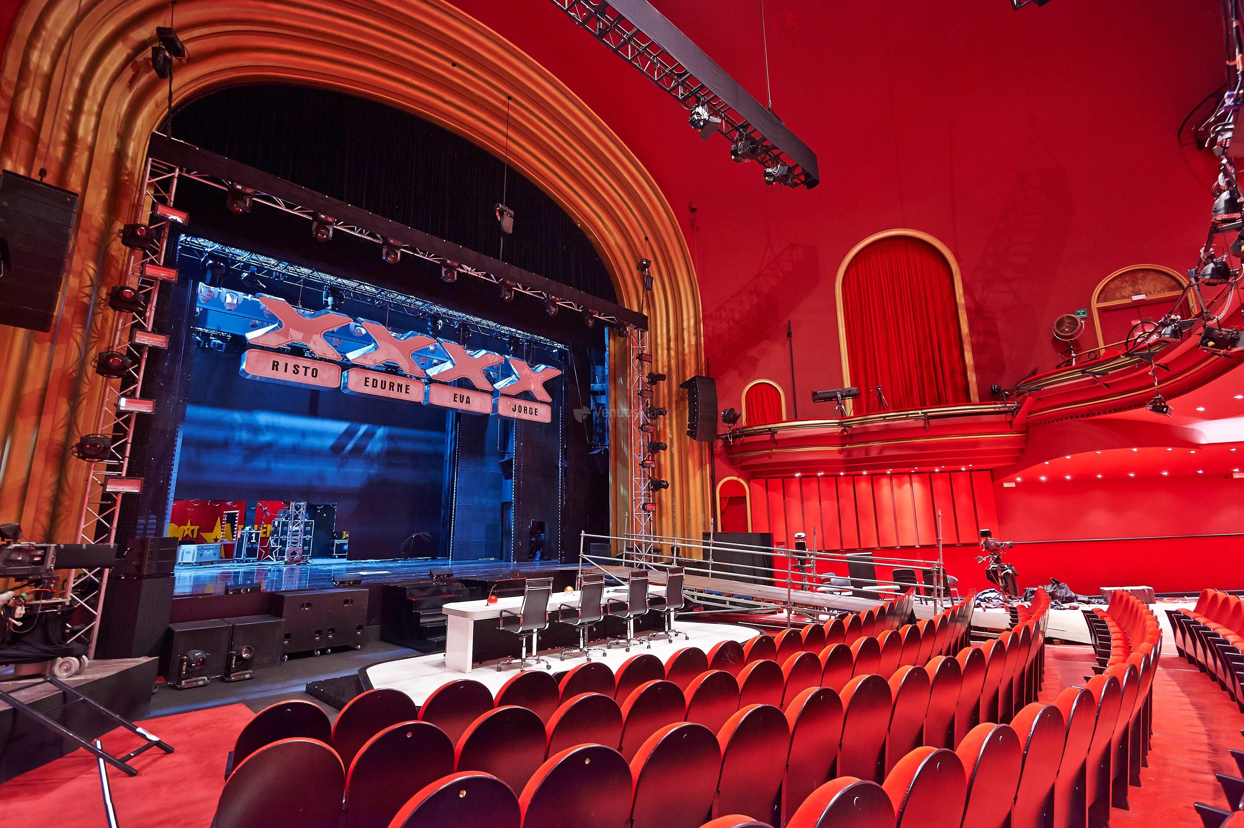Teatro coliseum eventos corporativos venuesplace - Teatro coliseum madrid interior ...