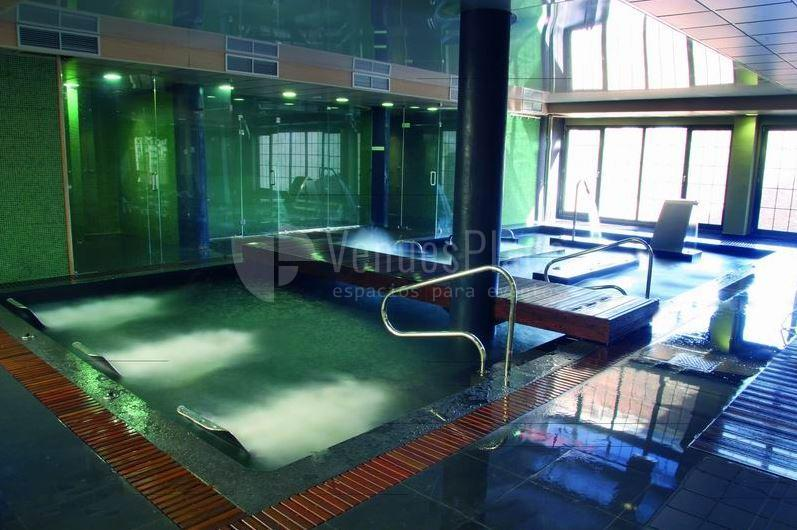 Zona de spa & wellness en Hotel Fontecruz Ávila ****