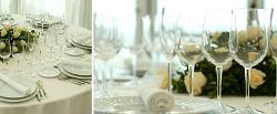 Montaje de banquetes en Playa Club La Coruña