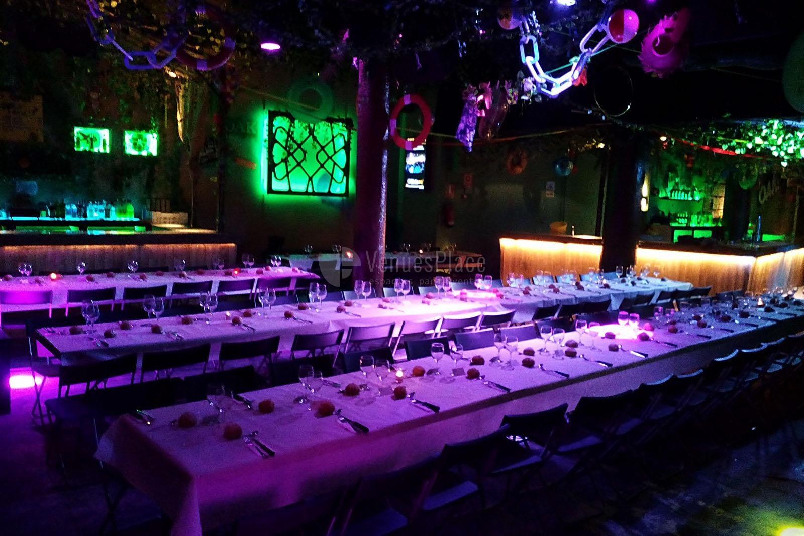Montaje 1  eventos originales y diferentes en Oak Barcelona