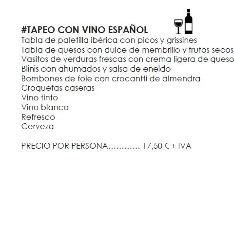 Tapeo con vino español en NaceThePhoto