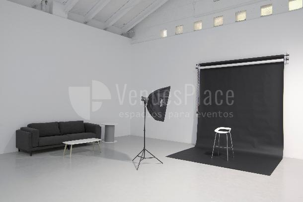 Rodajes de cine y TV en Nave creativa en Plaza Castilla