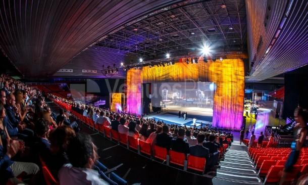 Montaje 1 en Centro de Convenciones Bilbao Exhibition Centre BEC