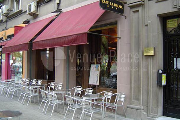 Exterior 1 en Café La Palma Conciertos