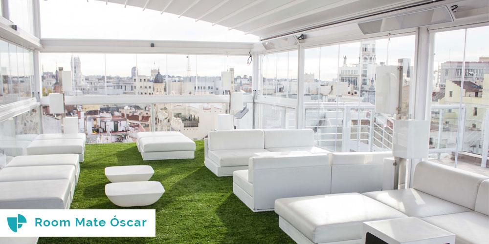 Las 7 mejores terrazas de invierno en madrid venuesplace for Room mate oscar piscina