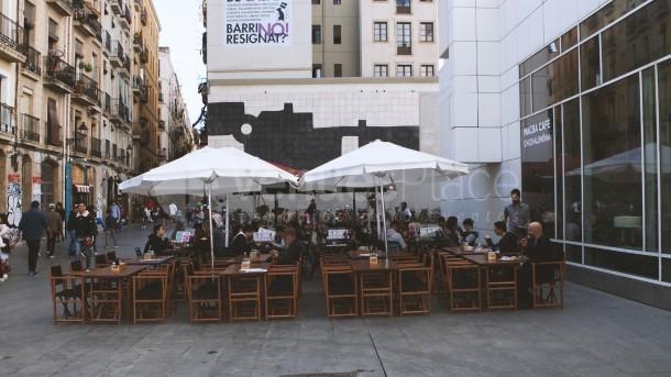 Terraza exterior Macba Cafè Chichalimoná