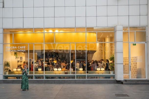 Exterior Macba Cafè Chichalimoná