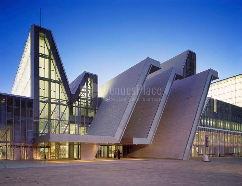 Exterior 1 en Palacio de congresos de Zaragoza