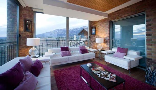 Terraza en el Hotel Bodega Eguren Ugarte