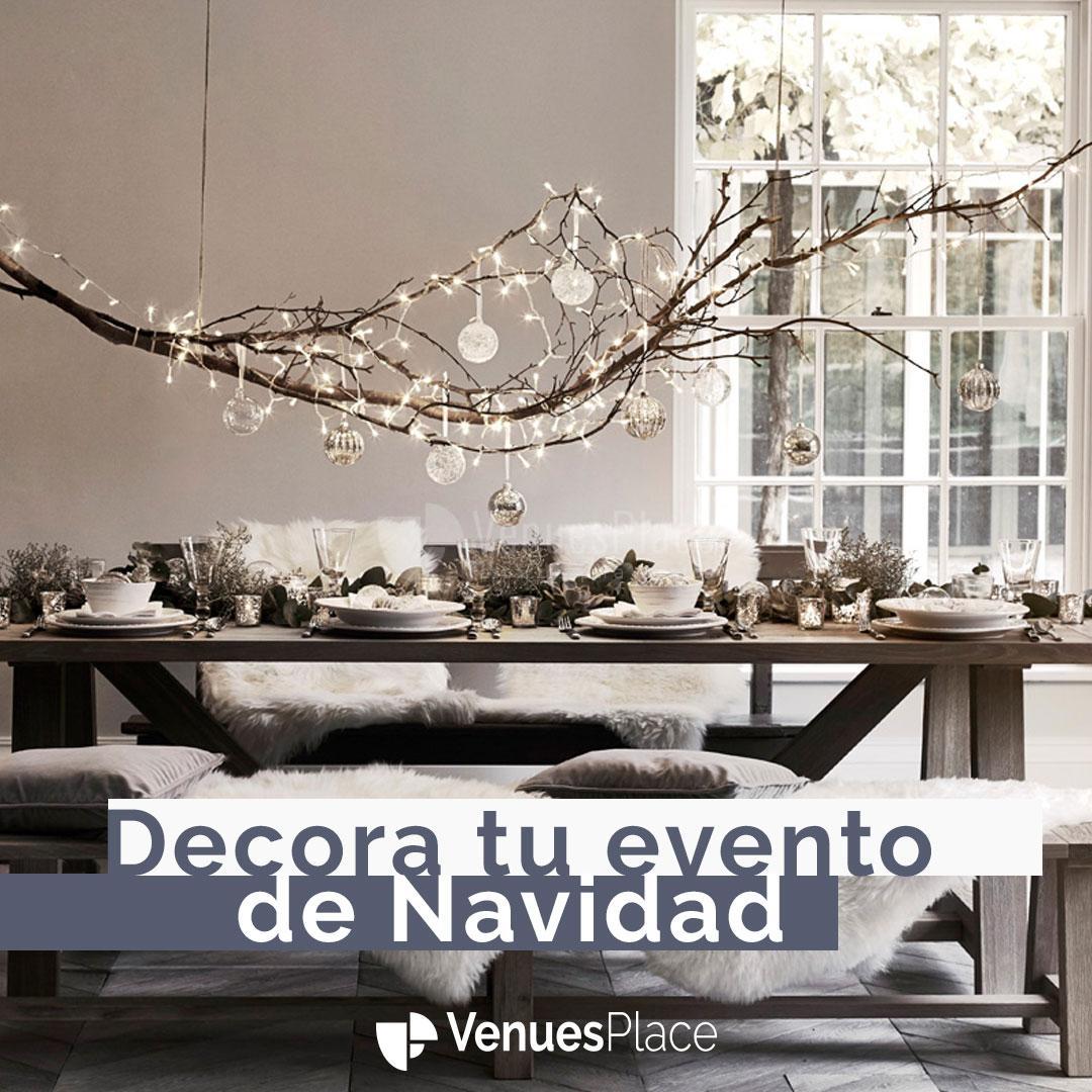 ¿Cómo decorar un evento de Navidad?
