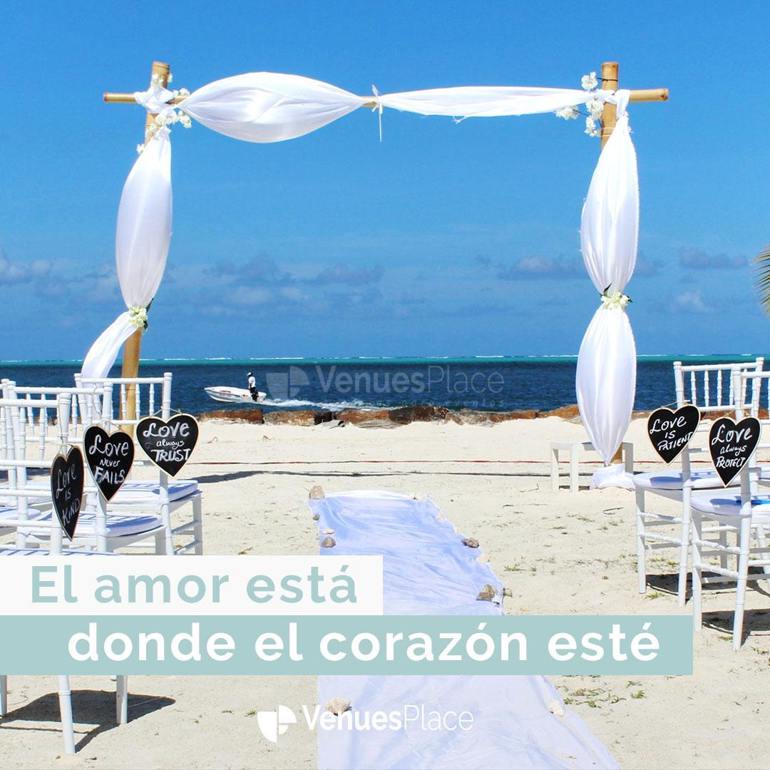Todos los detalles para organizar una Destination Wedding